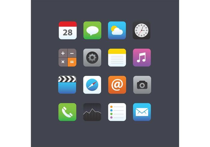 700x490 Smartphone App Icons