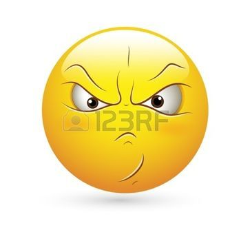 350x350 Emoji Vector Free Smiley Emoticons Face Vector Angry Expression