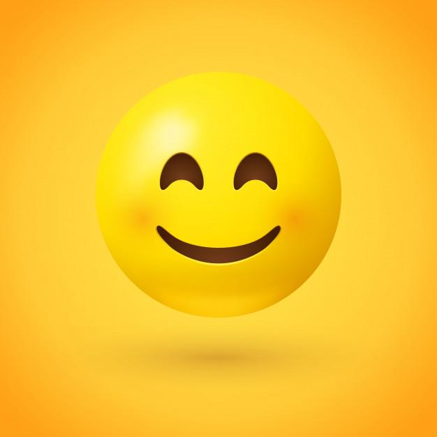 Smiley Face Emoji Vector