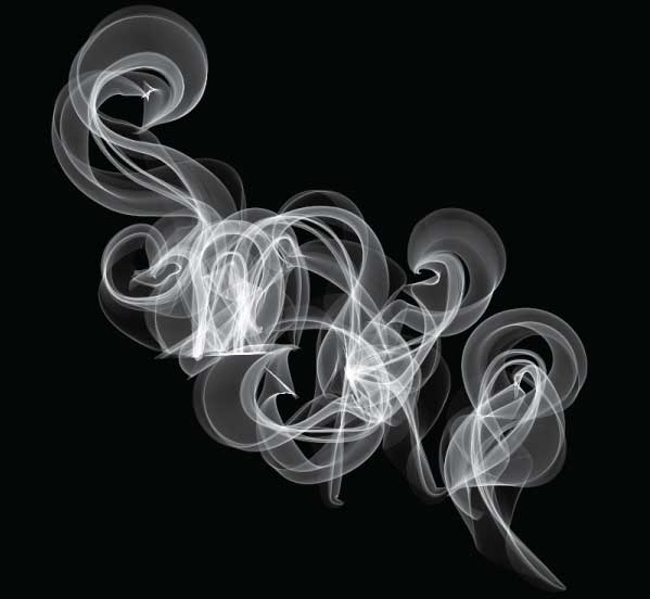 599x552 How To Create Smoky Brushes And Type In Illustrator Cs4