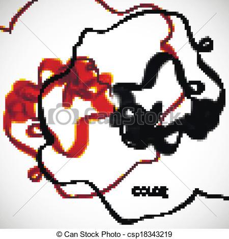 450x470 Abstract Smoke Vector Clip Art
