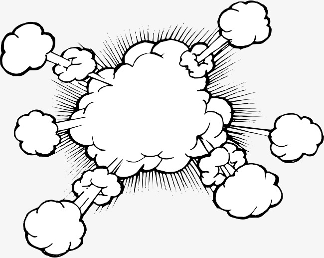650x517 Explosion Smoke, Explosion Vector, Smoke Vector Png And Vector For