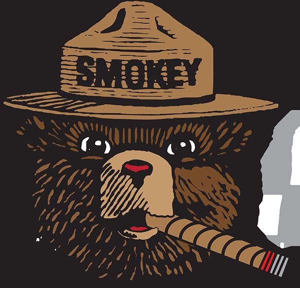 Smokey The Bear Vector