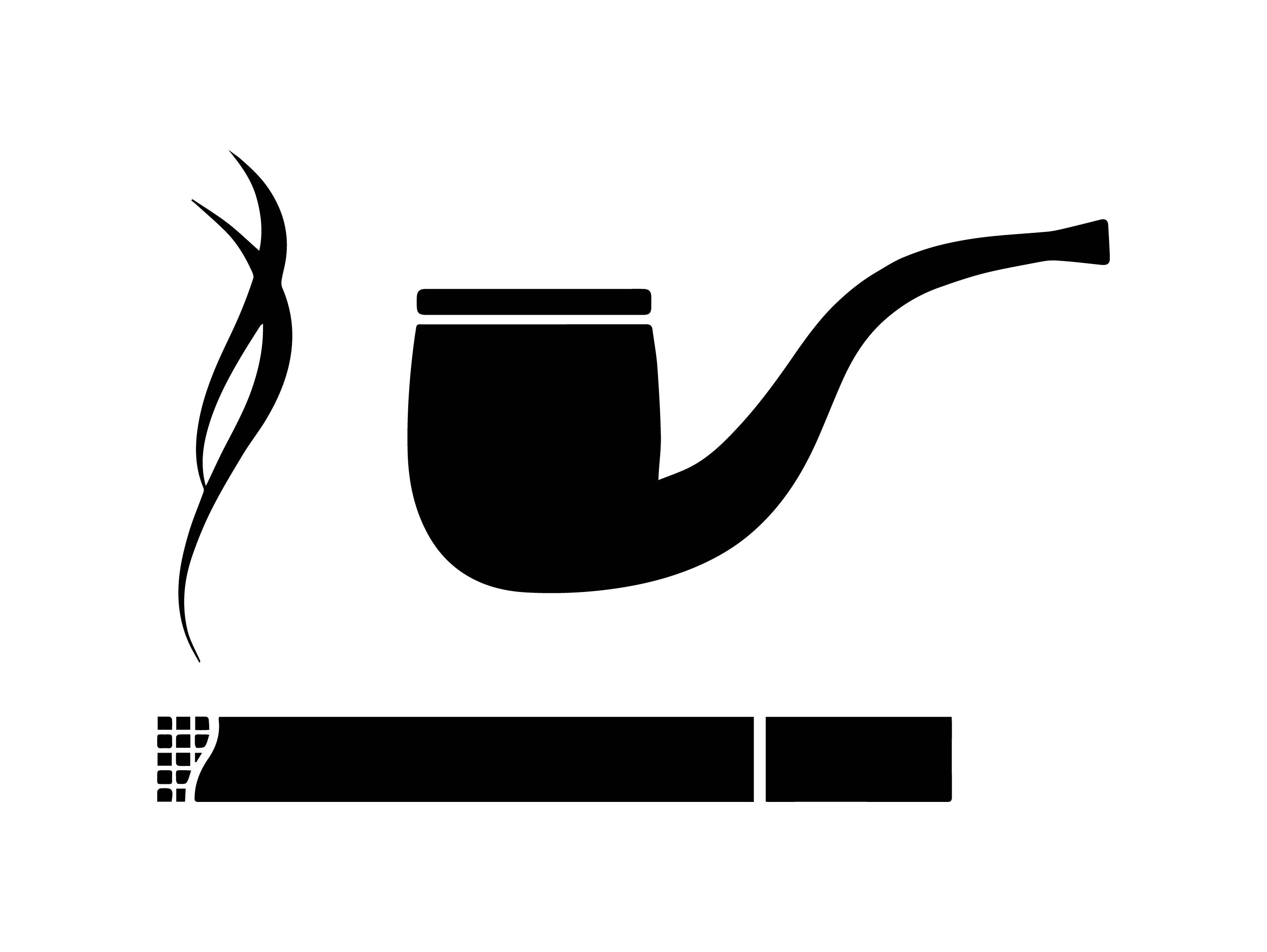 2877x2163 Pipe Clipart Cigarette Smoke