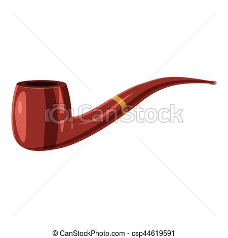 450x470 Smoking Pipe Icon, Cartoon Style. Smoking Pipe Icon. Cartoon