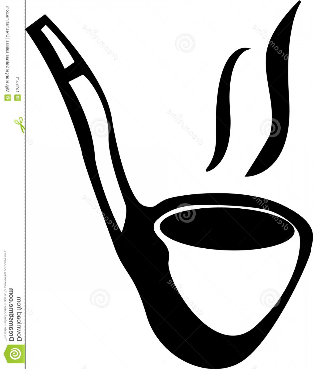 1326x1560 Stock Image Smoking Pipe Vector Illustration Image Orangiausa