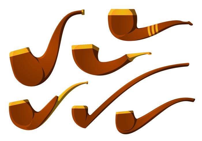 700x490 The Vintage Tobacco Pipe Vector Pack