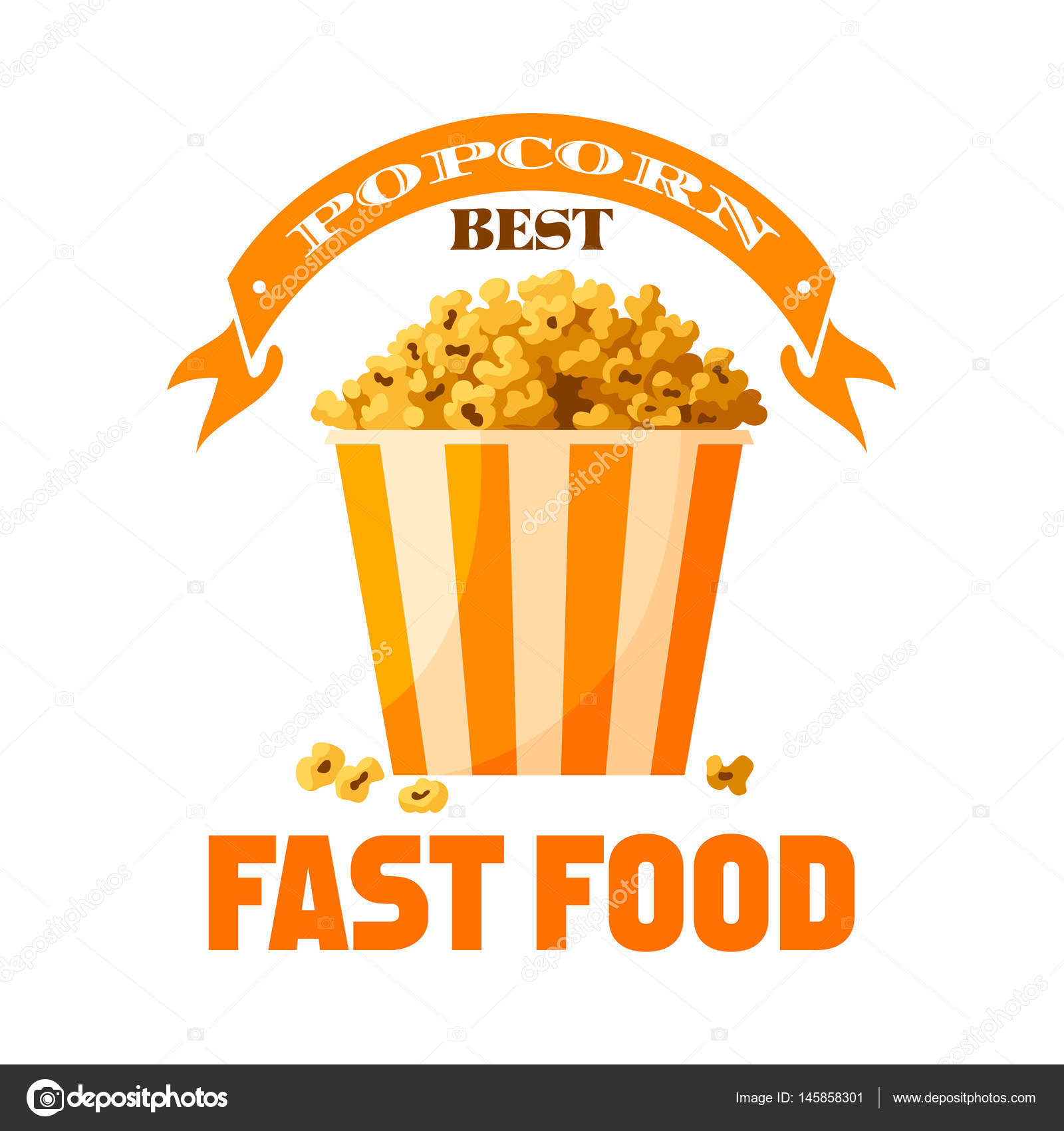 1600x1700 Snacks Clipart Yellow Popcorn ~ Frames ~ Illustrations ~ Hd Images