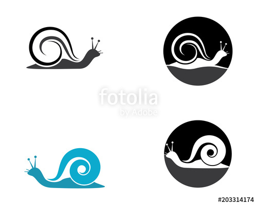 500x400 Snail Vector Icon Stock Image And Royalty Free Vector Files On