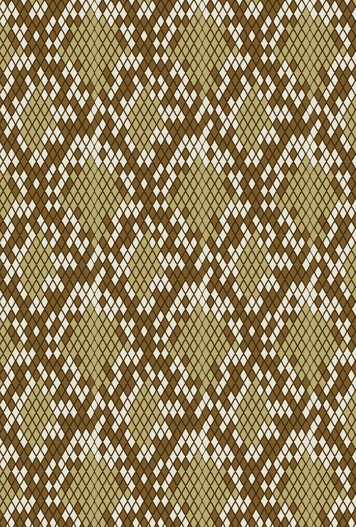 500x740 Vector Set Of Snake Skin Pattern Elements 01 Free Download