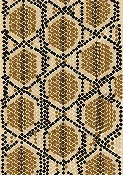 500x710 Vector Set Of Snake Skin Pattern Elements 03