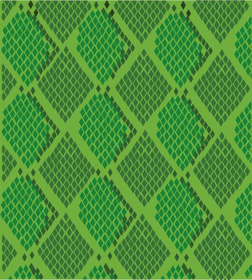 500x555 Vector Set Of Snake Skin Pattern Elements 05 Free Download