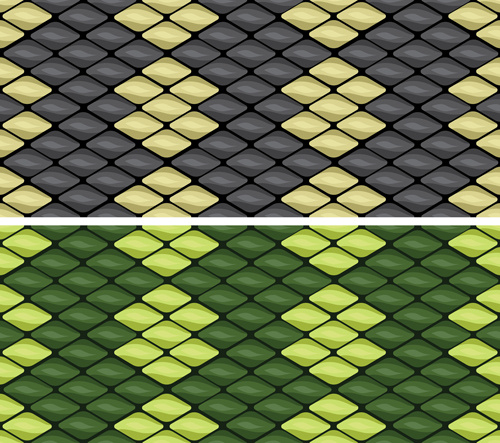 500x443 Vector Set Of Snake Skin Pattern Elements Free Vector In