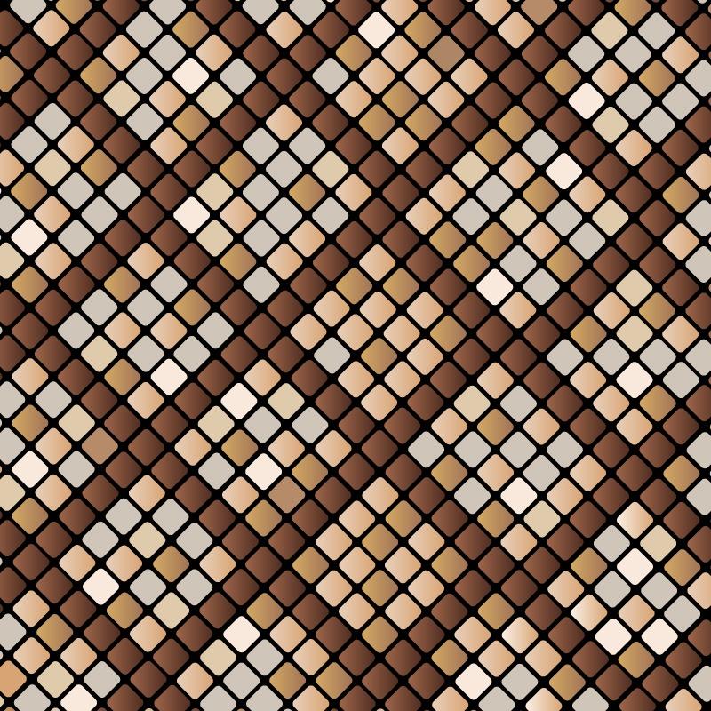800x800 Python Snake Skin Pattern