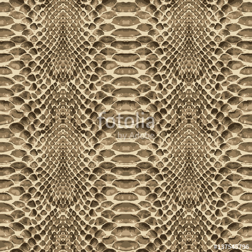 500x500 Snake Skin Pattern Texture Repeating Seamless. Vector. Texture
