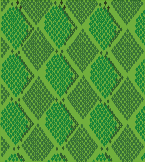 500x555 Vector Set Of Snake Skin Pattern Elements Free Vector In