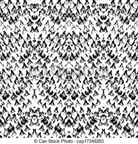 450x470 Vector Snake Skin Pattern Made With Brushstrokes. Texture For Web