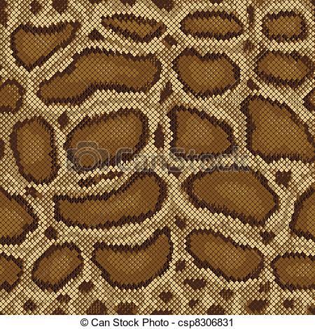 450x470 Python Pattern. Detailed Seamless Python Snake Skin Pattern.