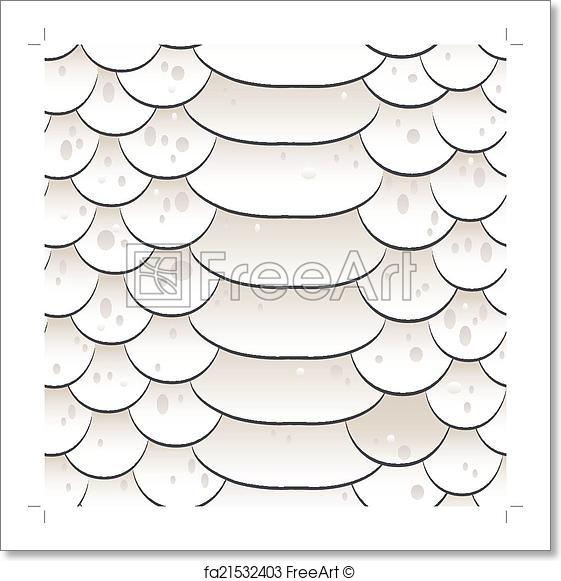561x581 Free Art Print Of Snake Skin Texture. Seamless Pattern White