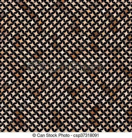 450x470 Mosaic Snake Skin. Brown Mosaic Imitating A Snake Skin. There Is
