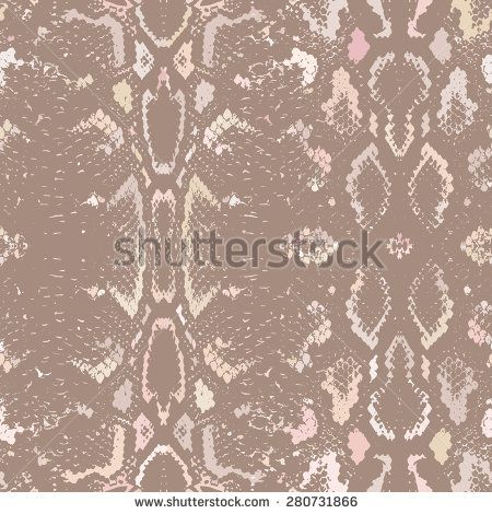 450x470 Snake Skin Texture. Seamless Pattern Beige Brown Background