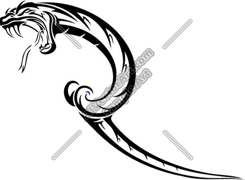500x368 Snake Hissing Tongue Amp Teeth Clipart And Vectorart Sports Mascots
