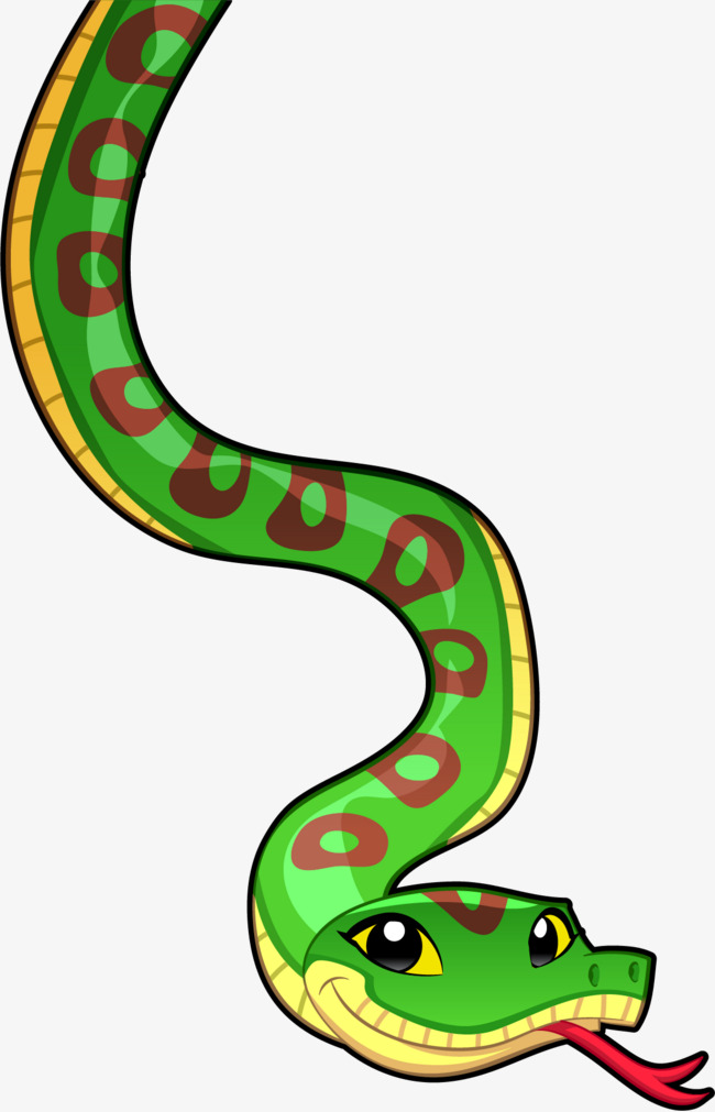 650x1011 Vector Painted Snake, Snake Vector, Snake Clipart, Vector Png And