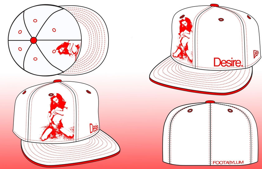 840x544 7 Snapback Hat Design Template Images