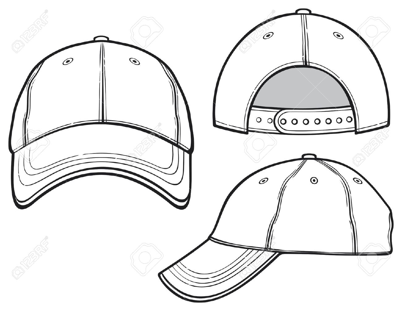 1300x1008 Good 6 Panel Hat Template Images Gallery Gtgt 6 Panel Hat Template
