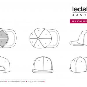 300x300 Snapback Vector Illustration Flat Sketches Template Arenawp