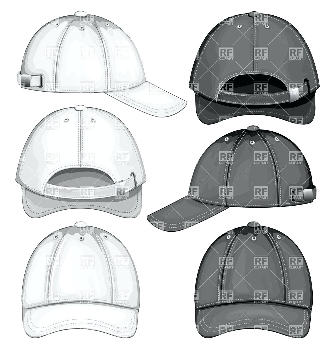 1155x1200 Template Cap Template Blank Of Baseball Front Back And Side View