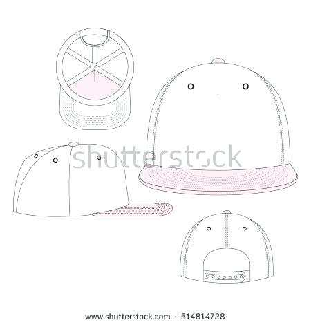 450x470 Cap Vector Template Snapback Hat Design Wearesoul.co