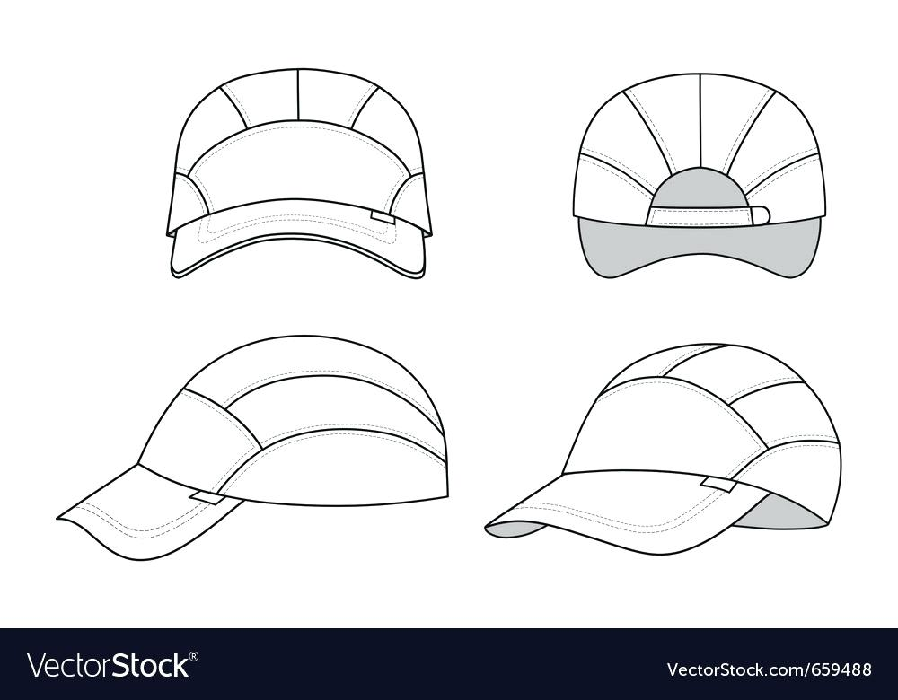 1000x780 Hat Vector Template Snapback Illustrator Wearesoul.co