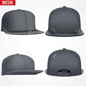 300x300 Hip Hop Stickers Design With Baseball Hat Snapback Vector