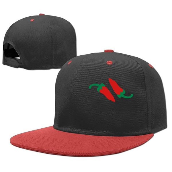 600x600 Personalize Snapback Hip Hop Hat Trucker Baseball Cap Kids Red Hot
