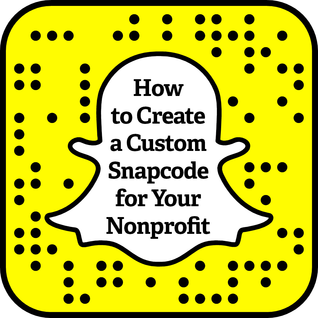 1024x1024 How To Create A Custom Snapcode For Your Nonprofit