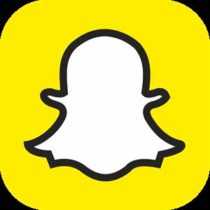 300x300 Snapchat Logo Vector (.eps) Free Download