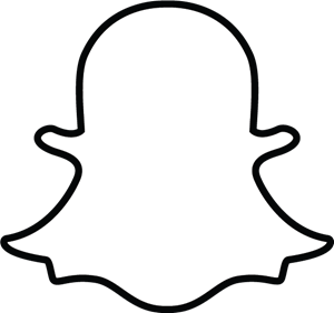 300x282 Snapchat Ghost Logo Vector (.eps) Free Download