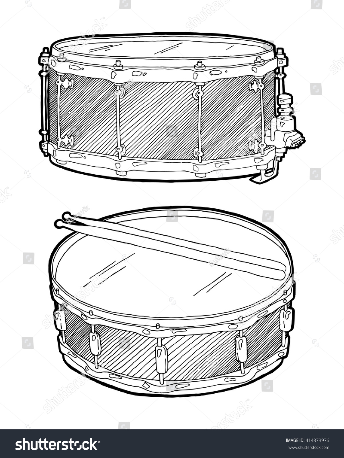 1200x1600 Collection Of Snare Drum Drawing High Quality, Free Cliparts