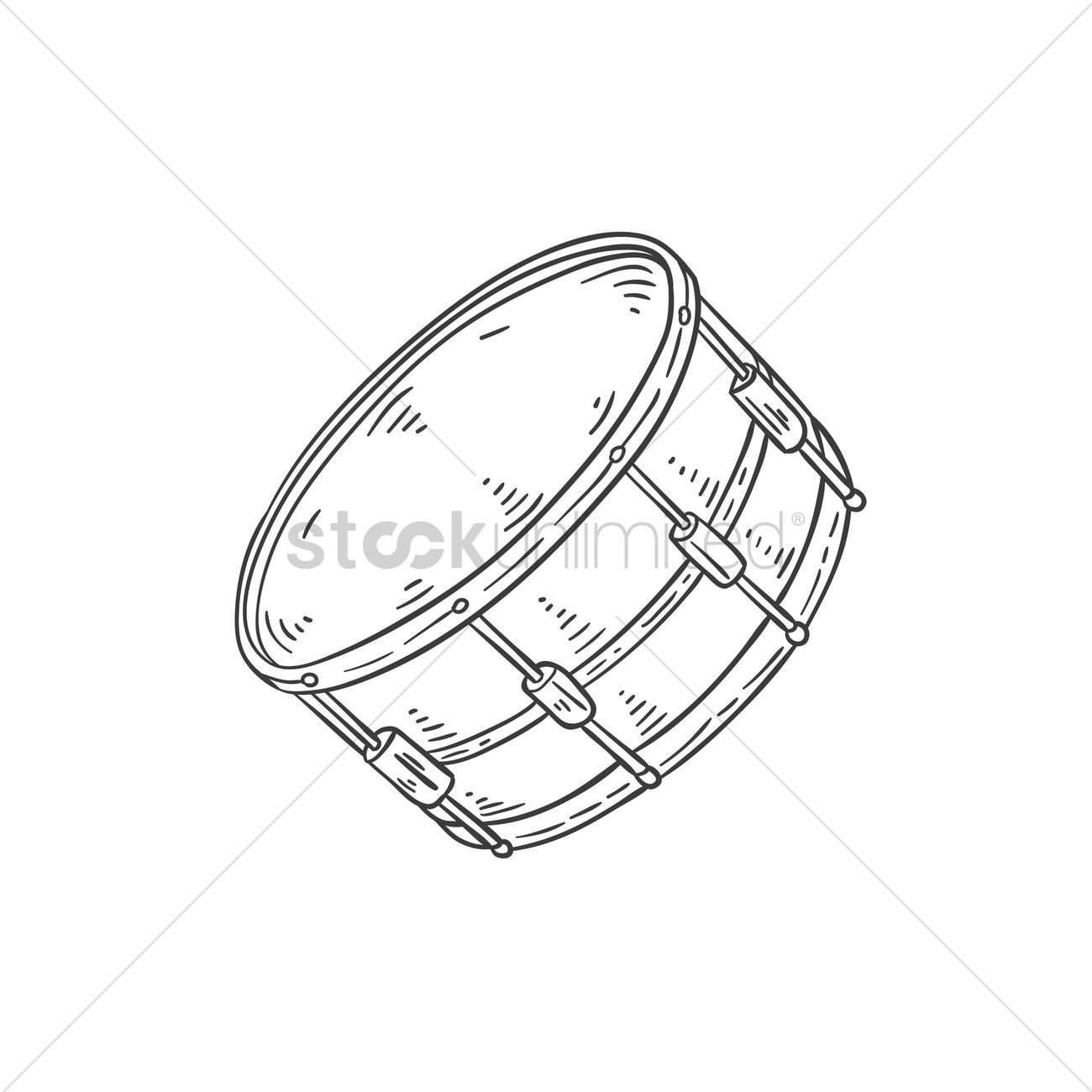 1300x1300 Snare Drum Vector Image