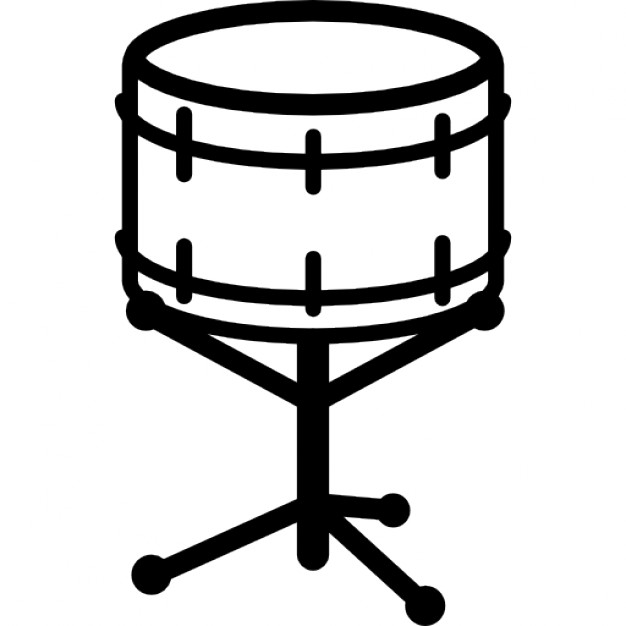 626x626 Snare Drum Outline Icons Free Download