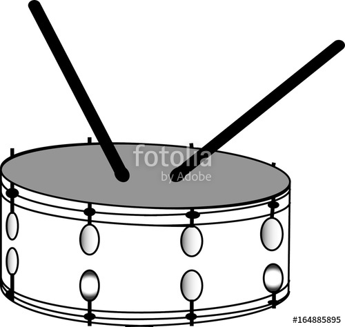 500x474 Snare Drum Vector Stock Image And Royalty Free Vector Files On