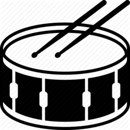 260x260 Download Snare Drum Vector Clipart Snare Drums Drumline