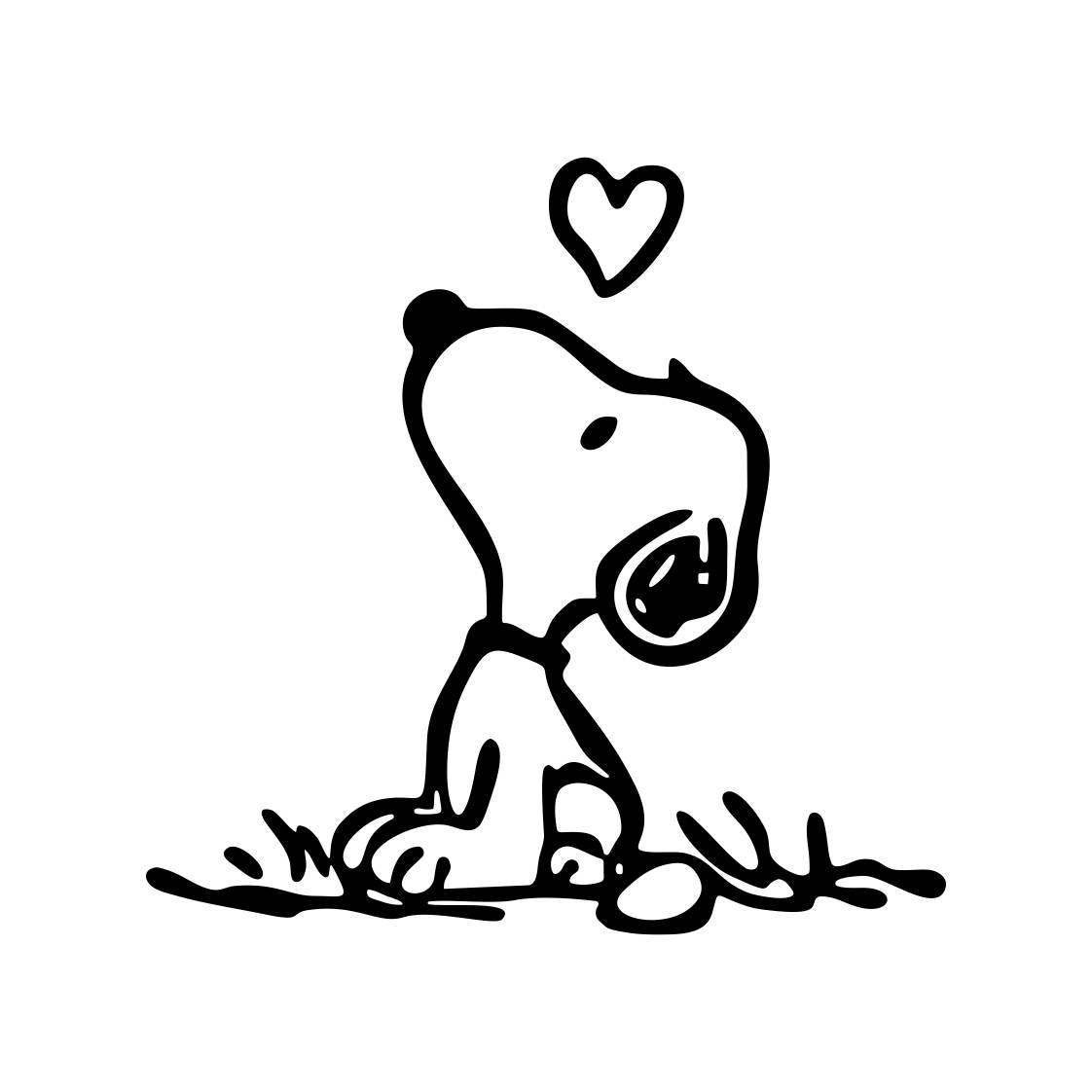 1122x1122 Snoopy Love Graphics Svg Dxf Eps Png Cdr Ai Pdf Vector Art Etsy