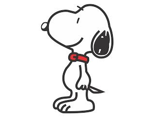 320x245 Vetor Snoopy Vector Free Silhouette