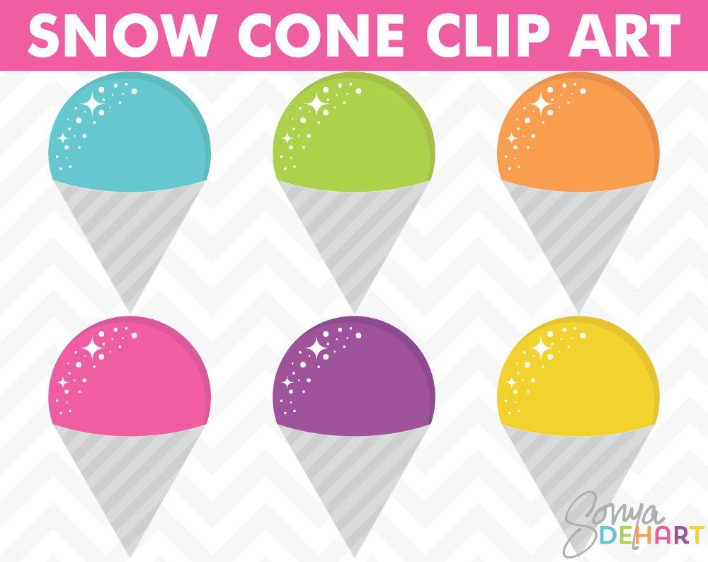 Snow Cone Vector