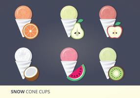 286x200 Snow Cone Free Vector Art