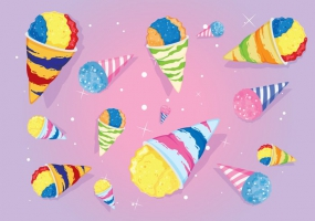 285x200 Snow Cone Cup Free Vector Graphic Art Free Download (Found 4,736