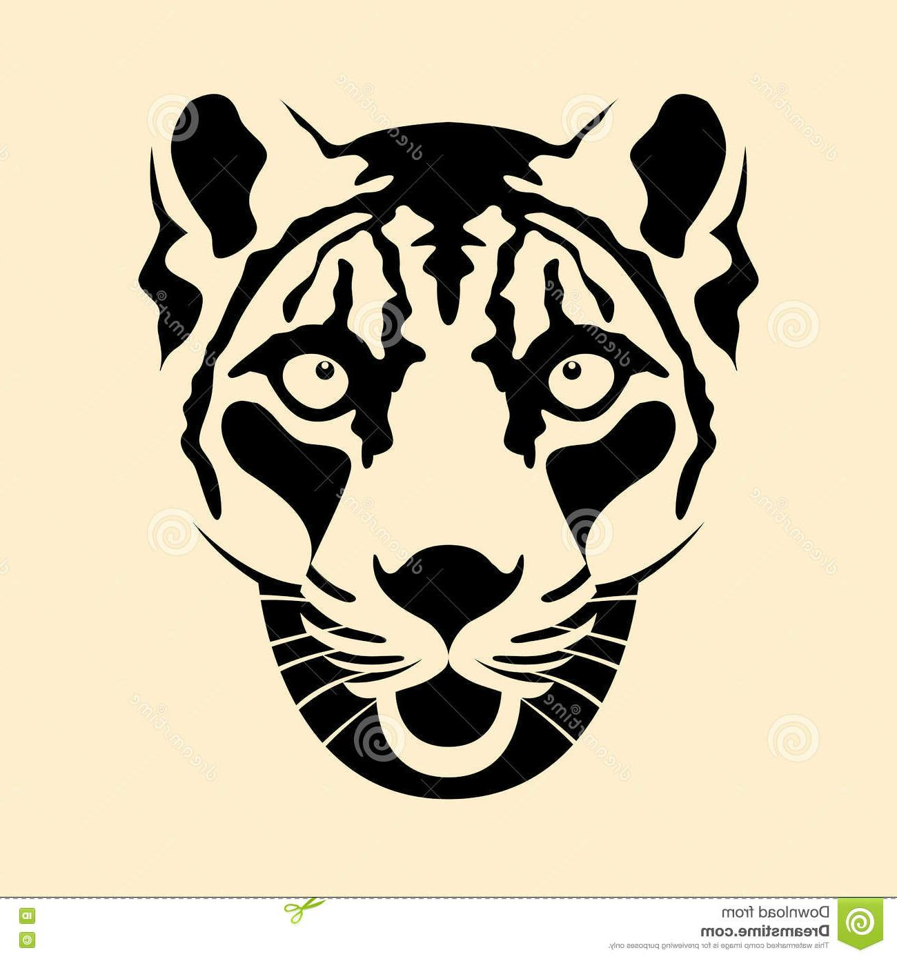 1300x1390 Best 15 Snow Leopard Head Face Vector Illustration Style Flat Drawing