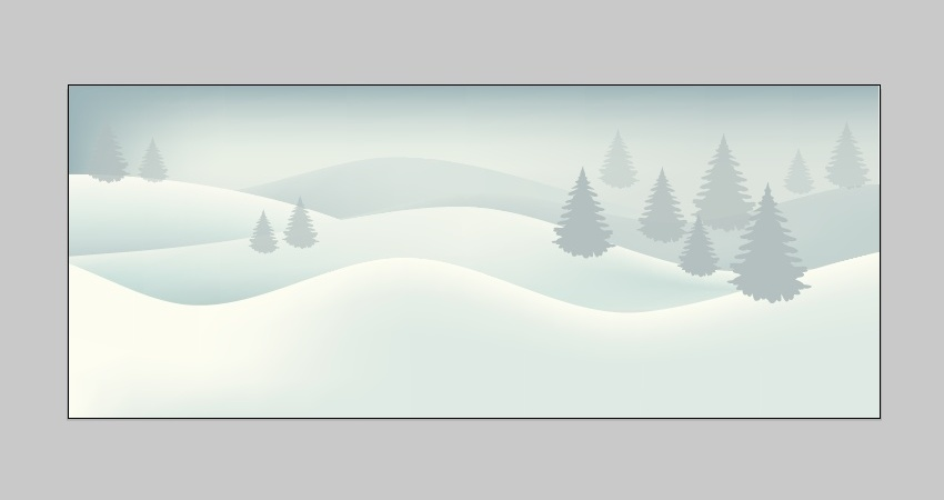 850x450 How To Create A Winter Snow Background In Adobe Illustrator